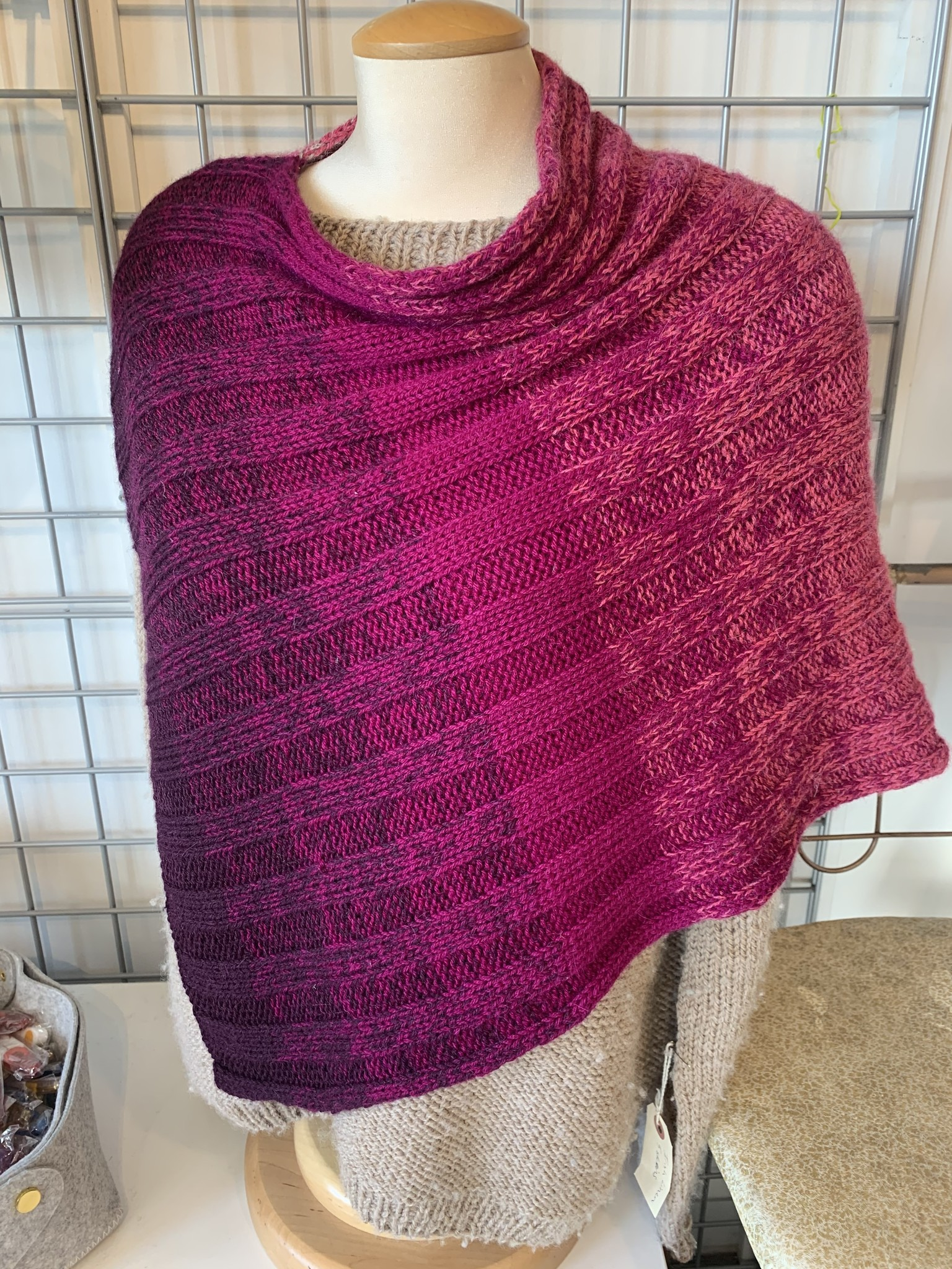 Concentric Poncho