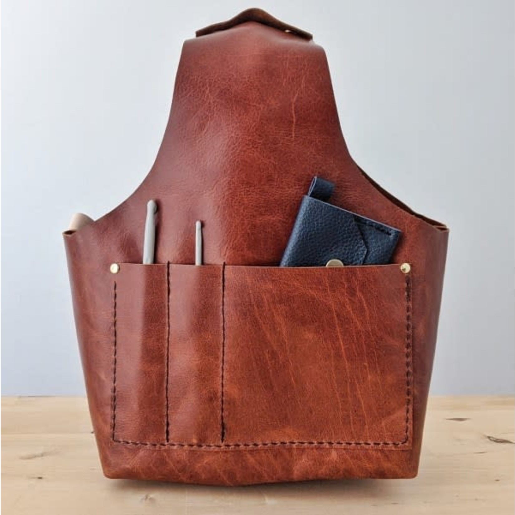 Her Leather Co. Beatrice Medium Project Bag