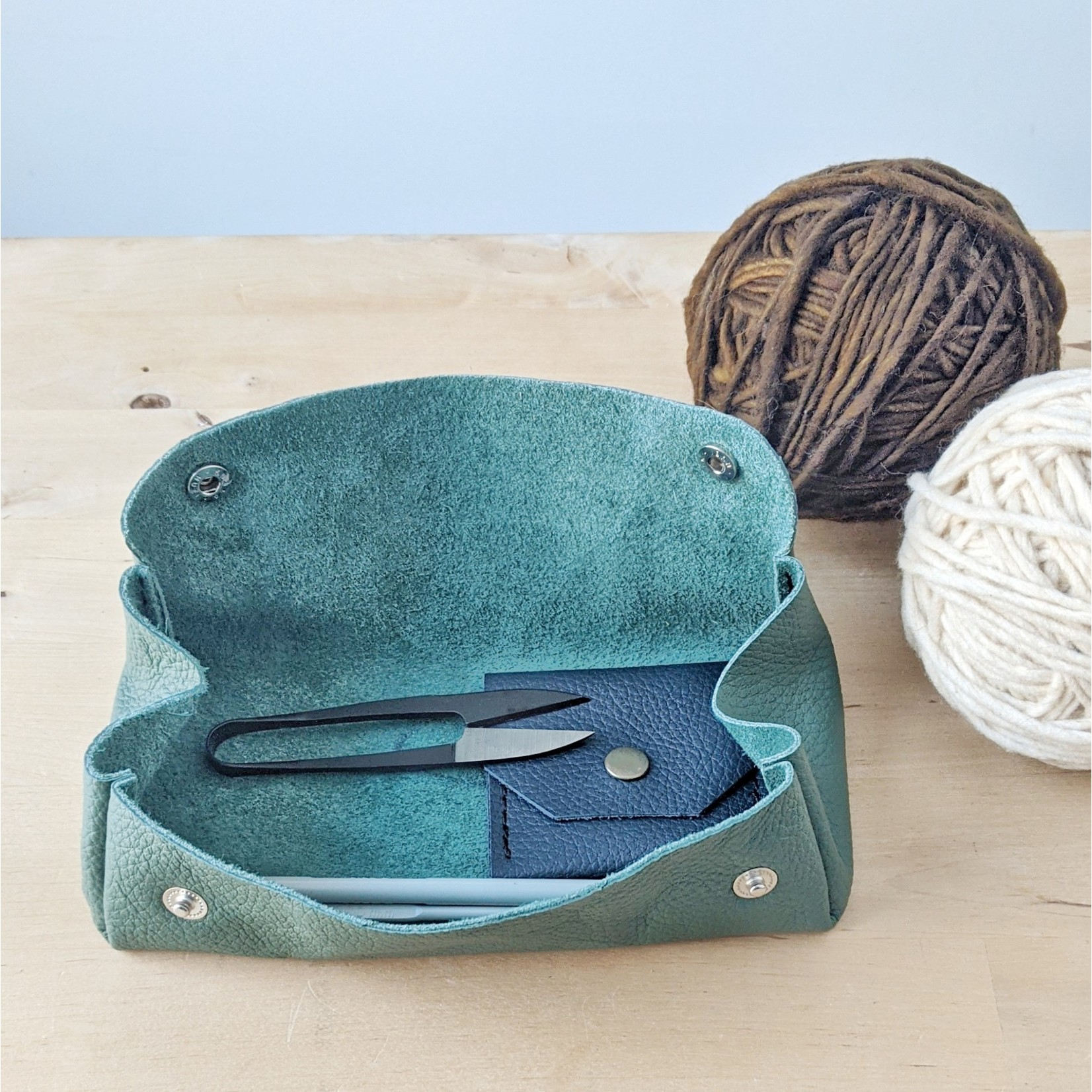 Her Leather Co. Grand Notion Pouch