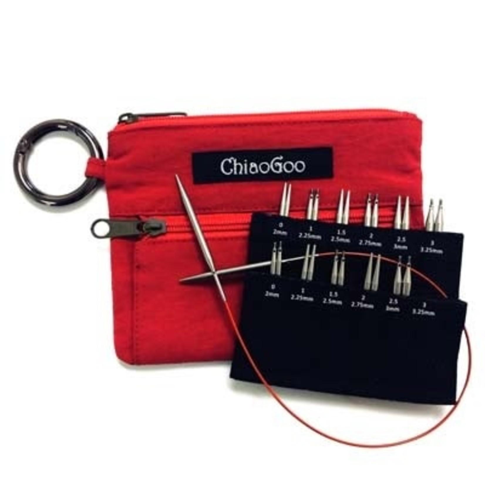 ChiaoGoo Twist Shorties Mini Set