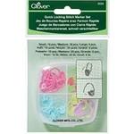Clover Clover Quick Locking Stitch Marker Set