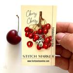 Firefly Notes Cherry Stitch Marker
