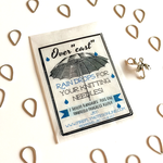 Firefly Notes Raindrop Stitch Markers and Umbrella Progress Keeper