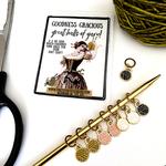 Firefly Notes Yarn Ball Stitch Marker Pack