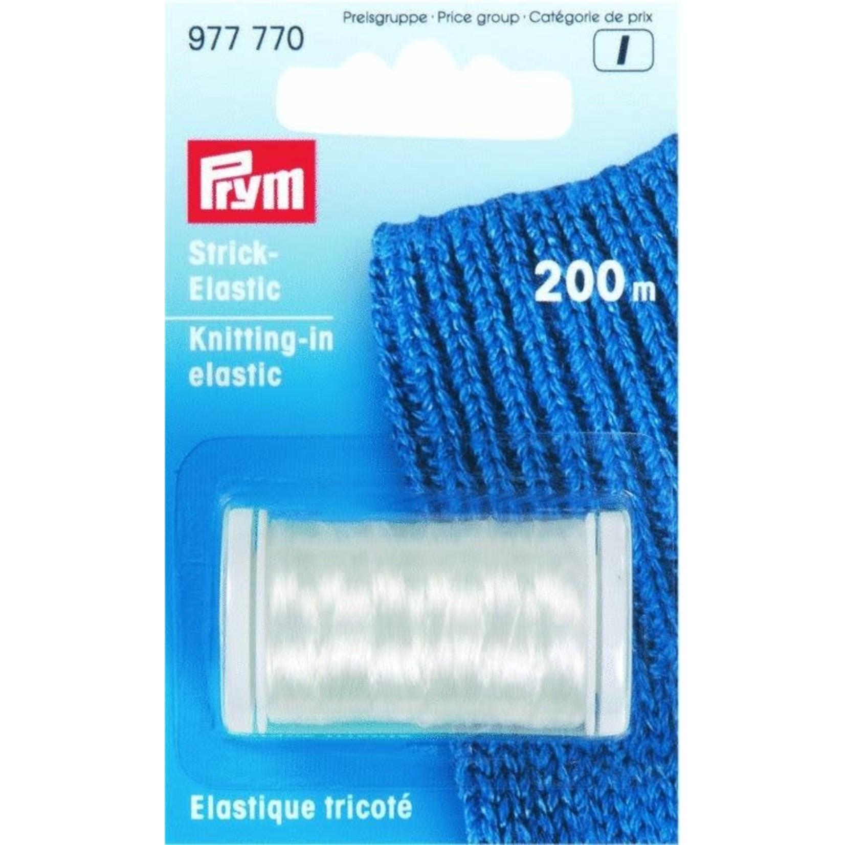 Prym Knitting in Elastic
