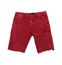 PRPS RED GRASS SHORTS