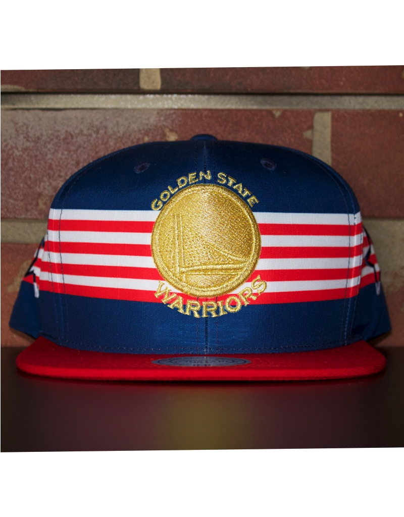 Mitchell & Ness GOLDEN STATE WARRIORS USA SPEED SKATE SNAPBACK