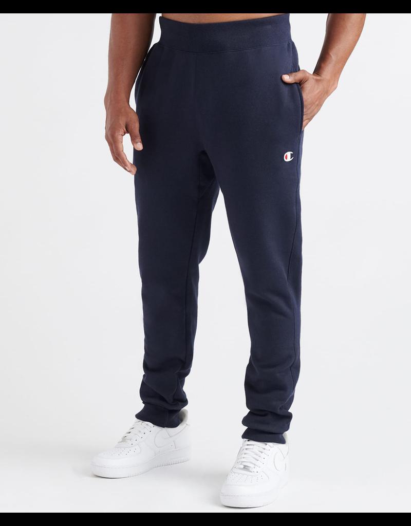 CHAMPION Navy Champion Life® Men's Reverse Weave® Trim Jogger Pants