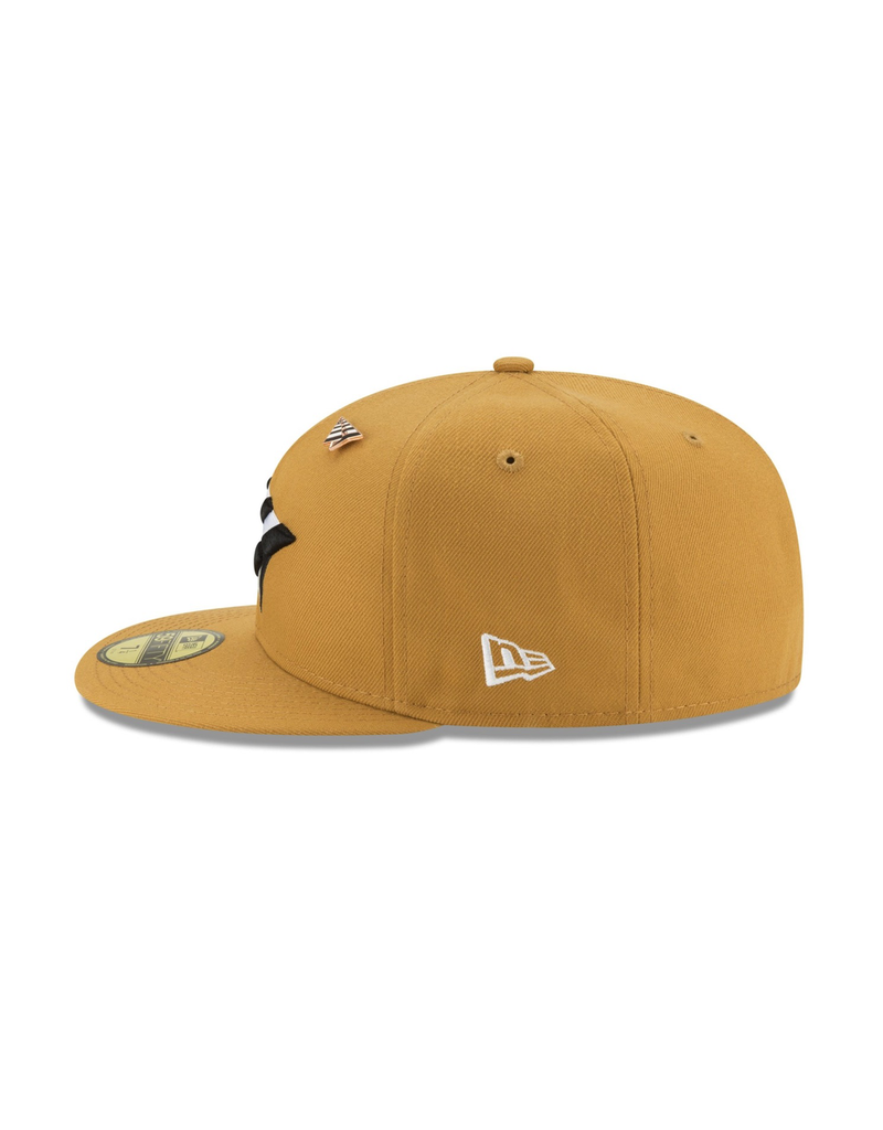 PAPER PLANES BY ROC NATION PANAMA TAN CROWN FITTED