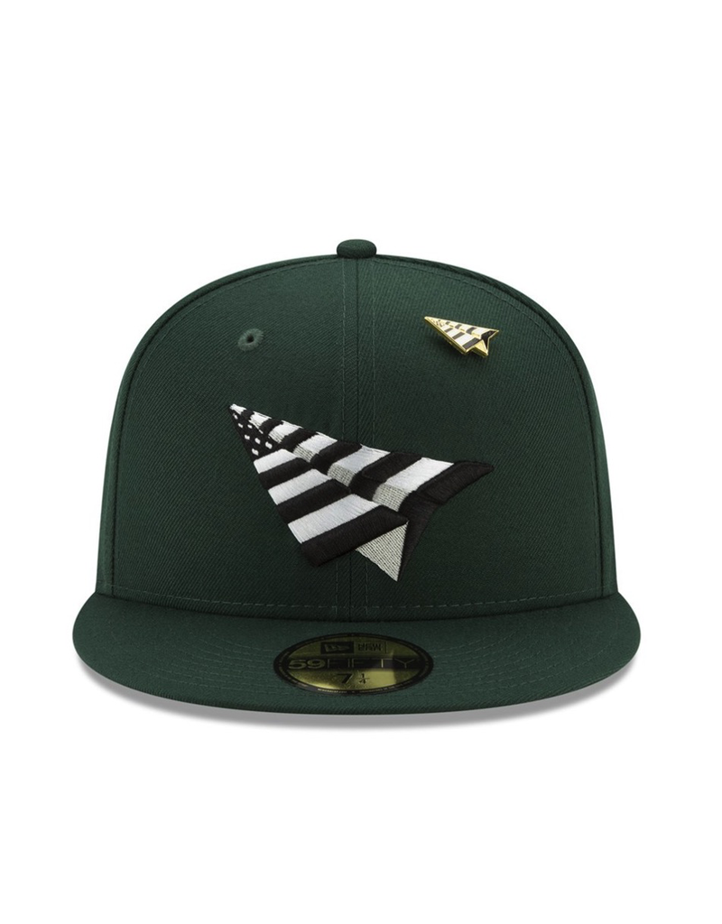 PAPER PLANES BY ROC NATION FIELD CROWN FITTED