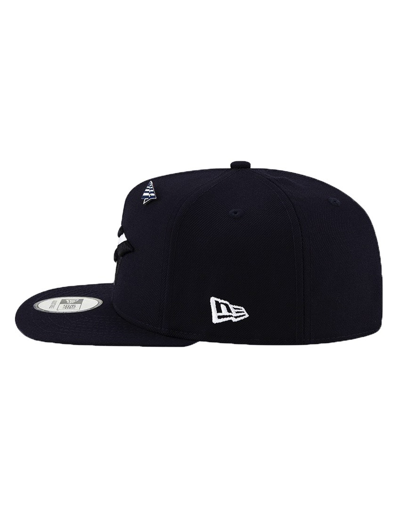PAPER PLANES BY ROC NATION NAVY BOY CROWN FITTED