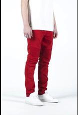 EMBELLISH SPENCER BIKER DENIM (RED)