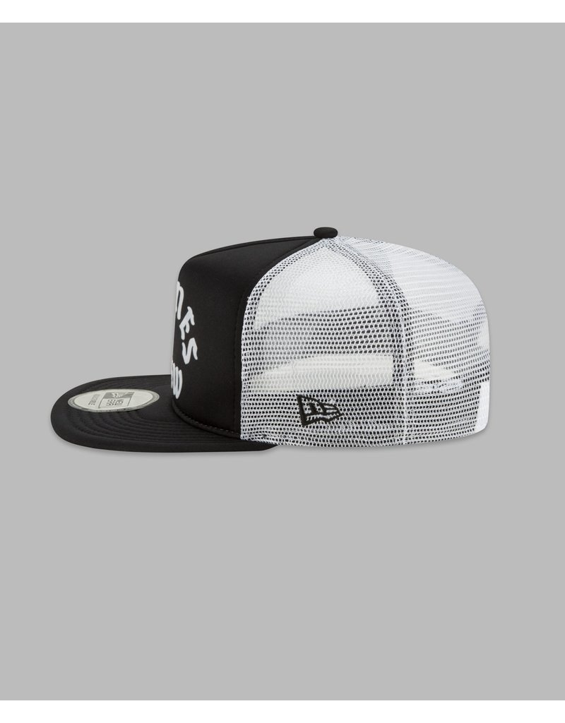 PAPER PLANES BY ROC NATION BLACK PLANES CREW TRUCKER TWO TONE OLD SCHOOL SNAPBACK