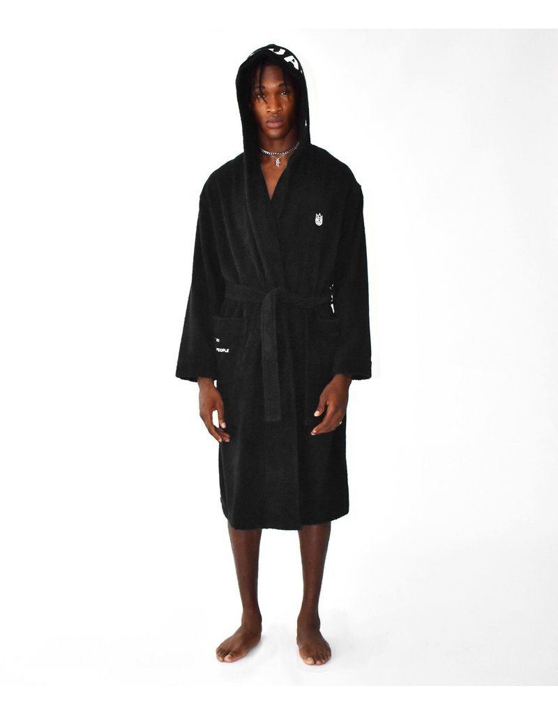 CULT OF INDIVIDUALITY SHIMUCHAN HOODED BATHROBE