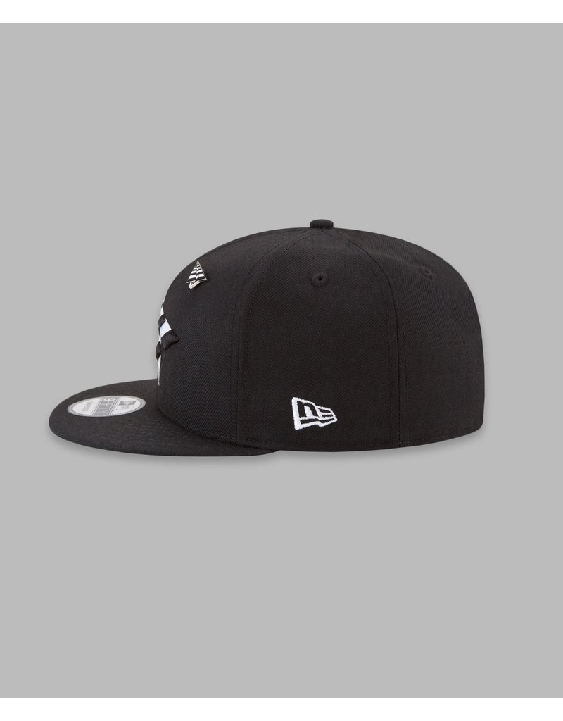PAPER PLANES BY ROC NATION ORIGINAL CROWN 9FIFTY SNAPBACK W/GREEN UNDERVISOR