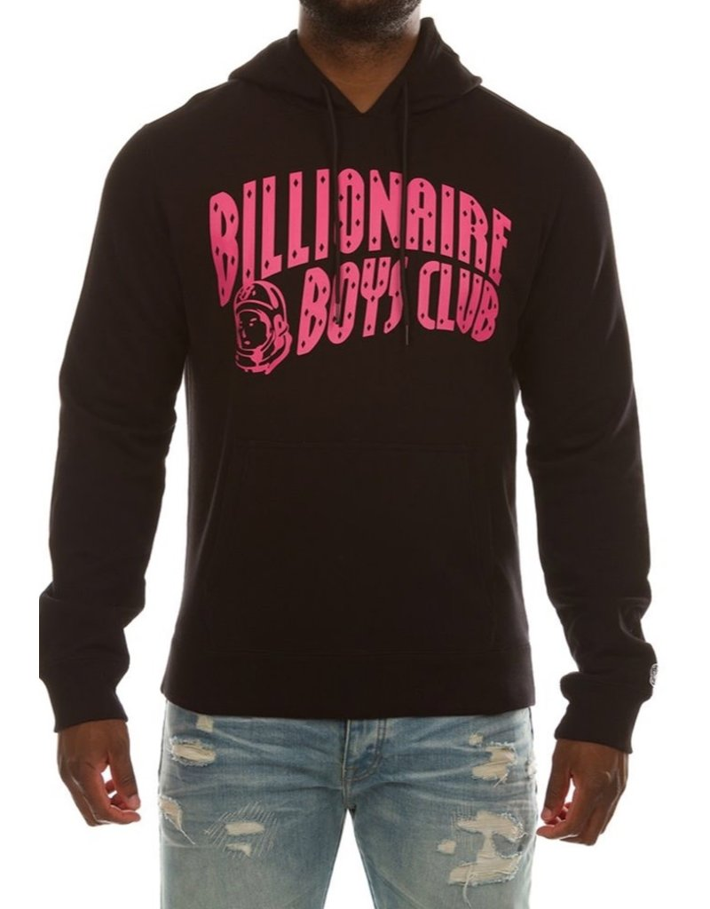 BILLIONAIRE BOYS CLUB BLACK BB ARCH HOODIE
