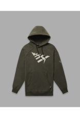 PAPER PLANES BY ROC NATION OD GREEN ALL POINTS HOODIE