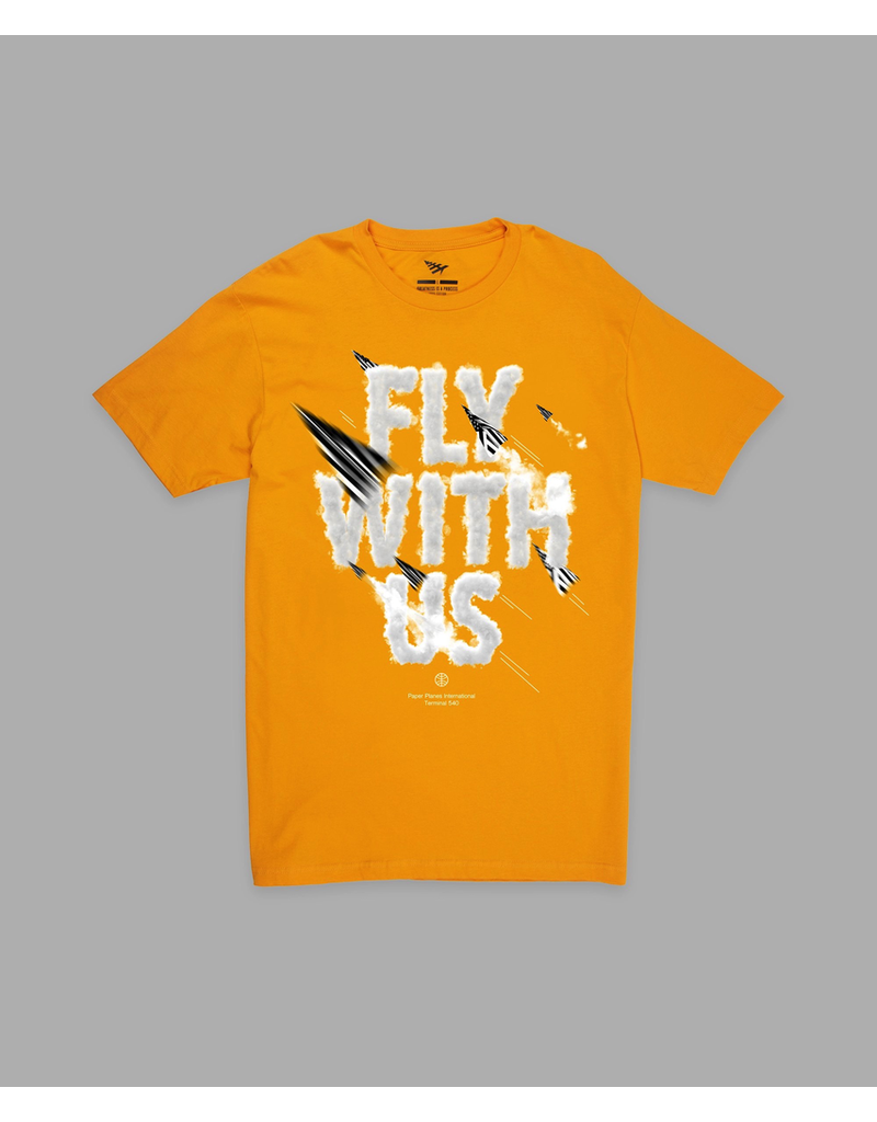 PAPER PLANES BY ROC NATION CITRON FLY WITH US TEE