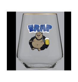 BEERCANVAS That TRAPpist Monk Glass