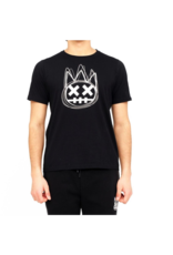 CULT OF INDIVIDUALITY BLACK SHIMUCHAN LOGO SHORT SLEEVE CREW NECK TEE