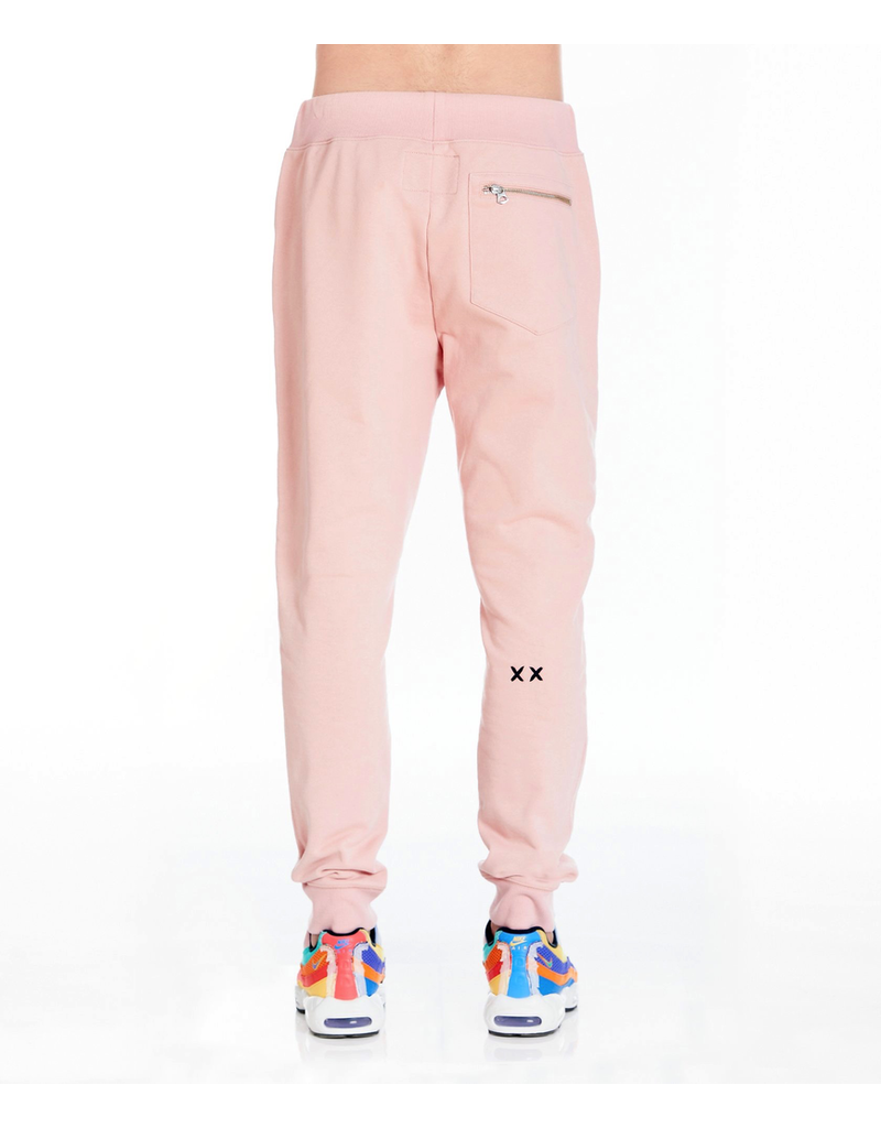 CULT OF INDIVIDUALITY SWEATPANT IN SALMON