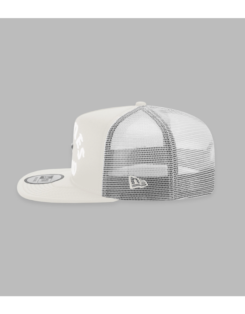PAPER PLANES BY ROC NATION IVORY PLANES CREW TRUCKER TWO TONE OLD SCHOOL SNAPBACK