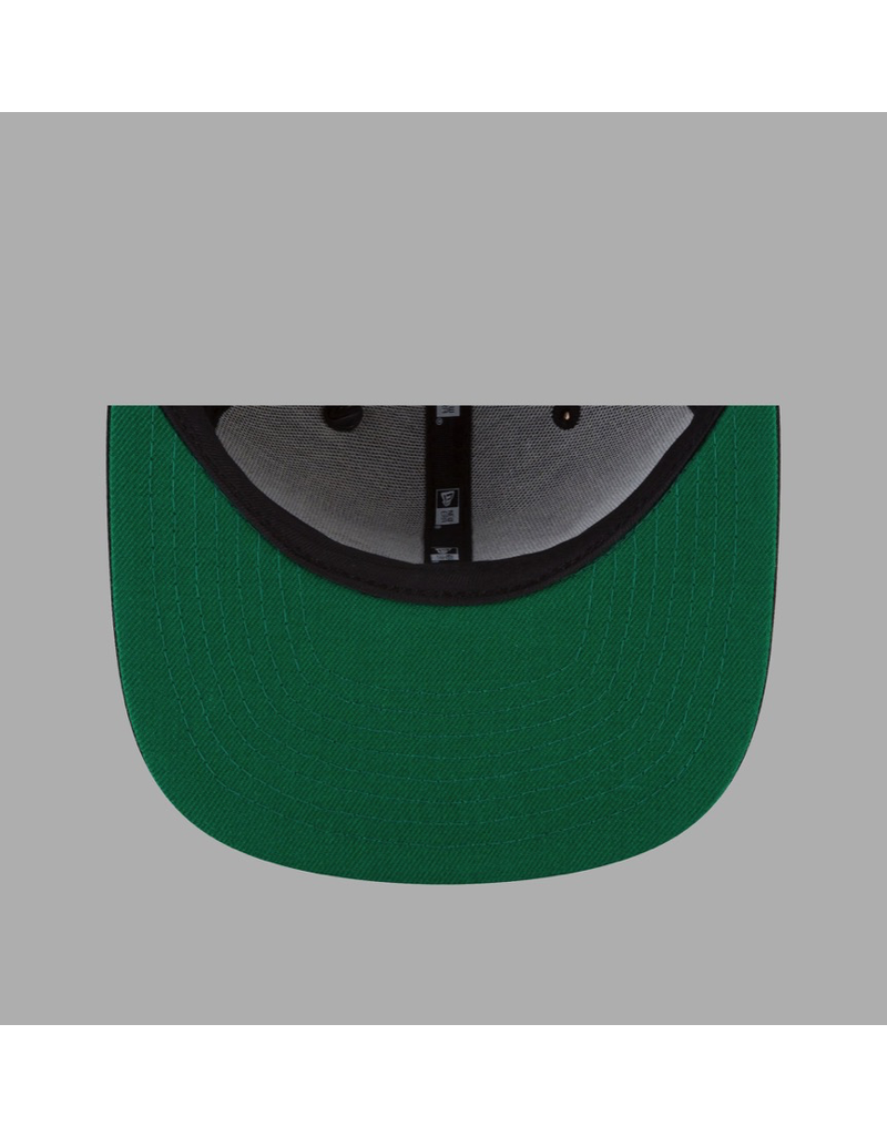 PAPER PLANES BY ROC NATION THE ORIGINAL CROWN OLD SCHOOL SNAPBACK W/ GREEN UNDERVISOR
