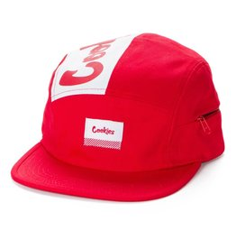 Cookies RED FRESH DAILY COTTON CANVAS 5 PANEL HAT