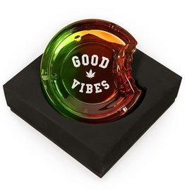 Cookies COOKIES C-BITE GOOD VIBES GLASS ASHTRAY