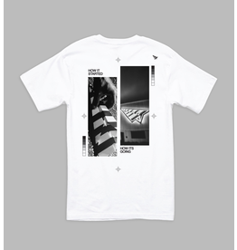 PAPER PLANES STAY ON COURSE TEE