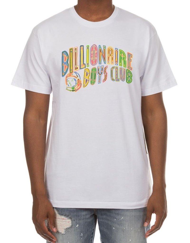BILLIONAIRE BOYS CLUB WHITE BB ARCO SS TEE