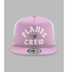 PAPER PLANES BY ROC NATION Lavender Planes Crew Trucker Two Tone Old School Snapback