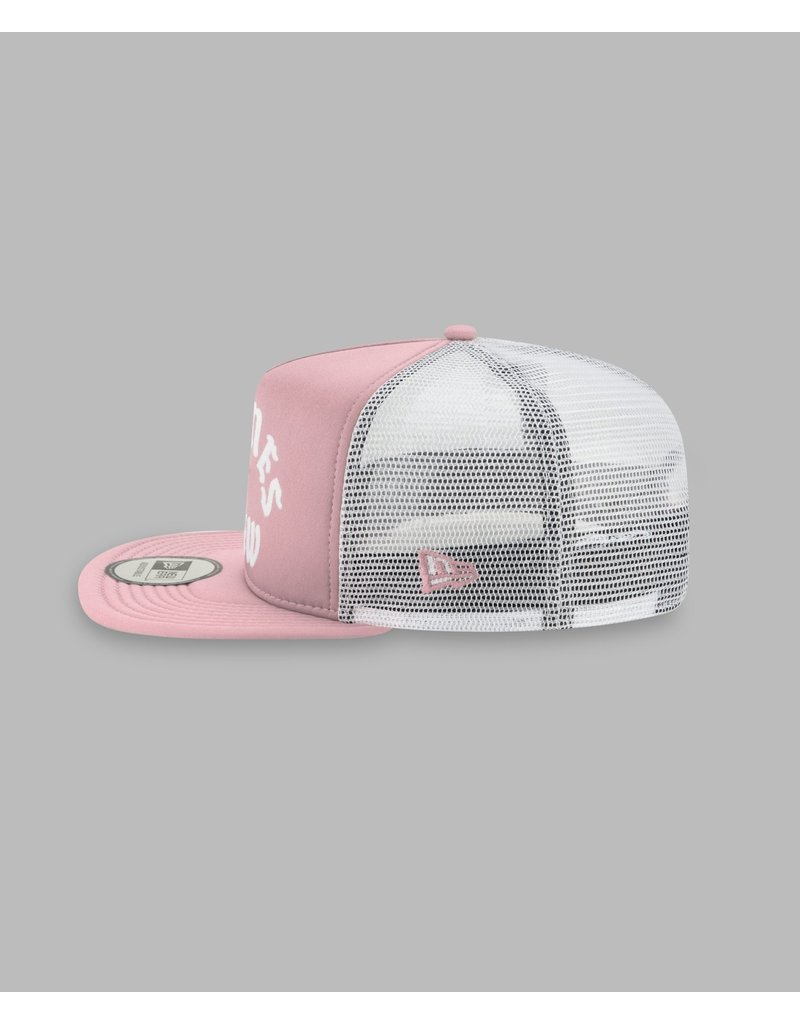 PAPER PLANES BY ROC NATION WASHED PINK PLANES CREW TRUCKER TWO TONE OLD SCHOOL SNAPBACK