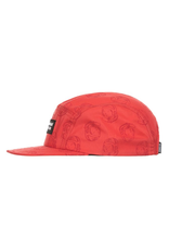 BILLIONAIRE BOYS CLUB RED BB BILLION PANEL HAT