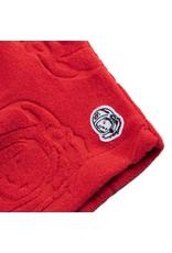 BILLIONAIRE BOYS CLUB RED BB JACQUARD SHORT