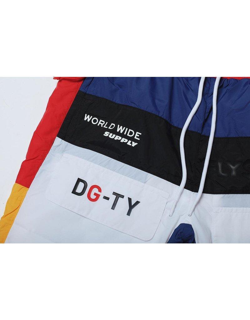 FLY SUPPLY DGTY Nylon Shorts (Blue)