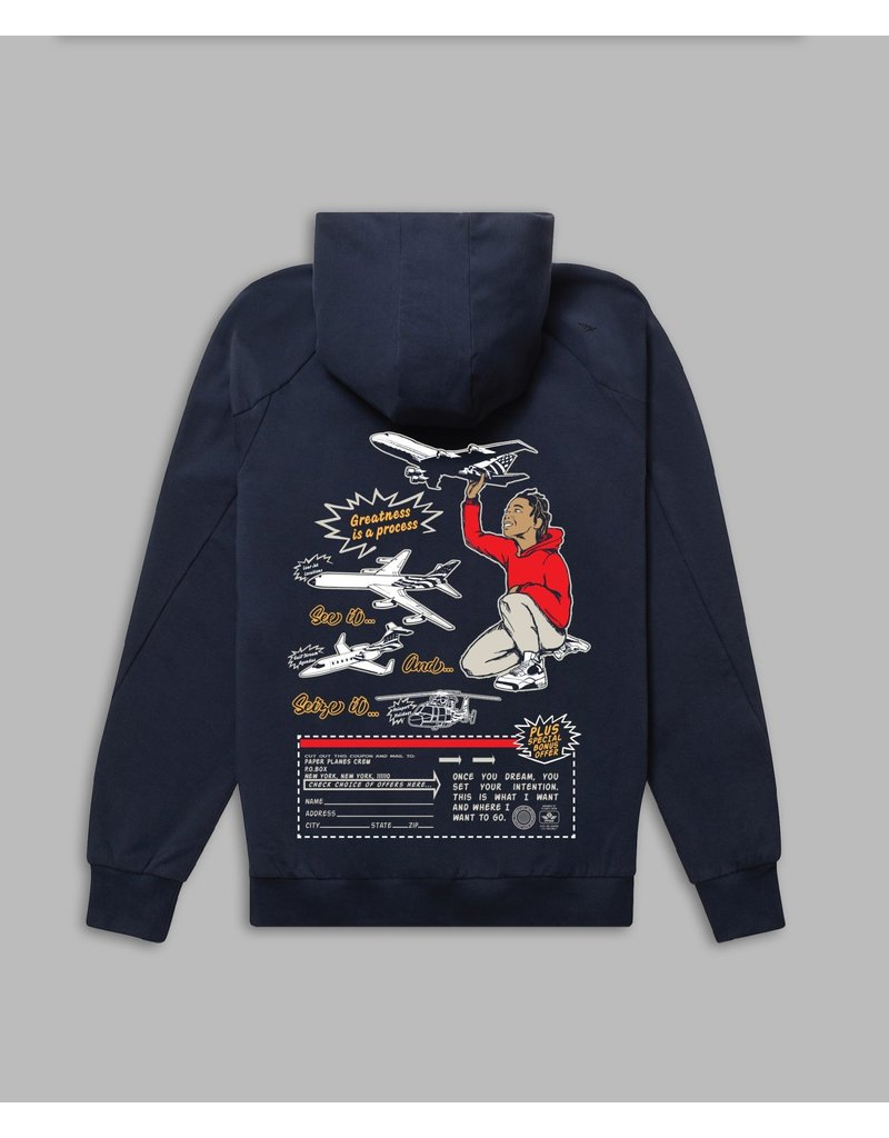 PAPER PLANES BY ROC NATION A PLANE STORY HOODIE