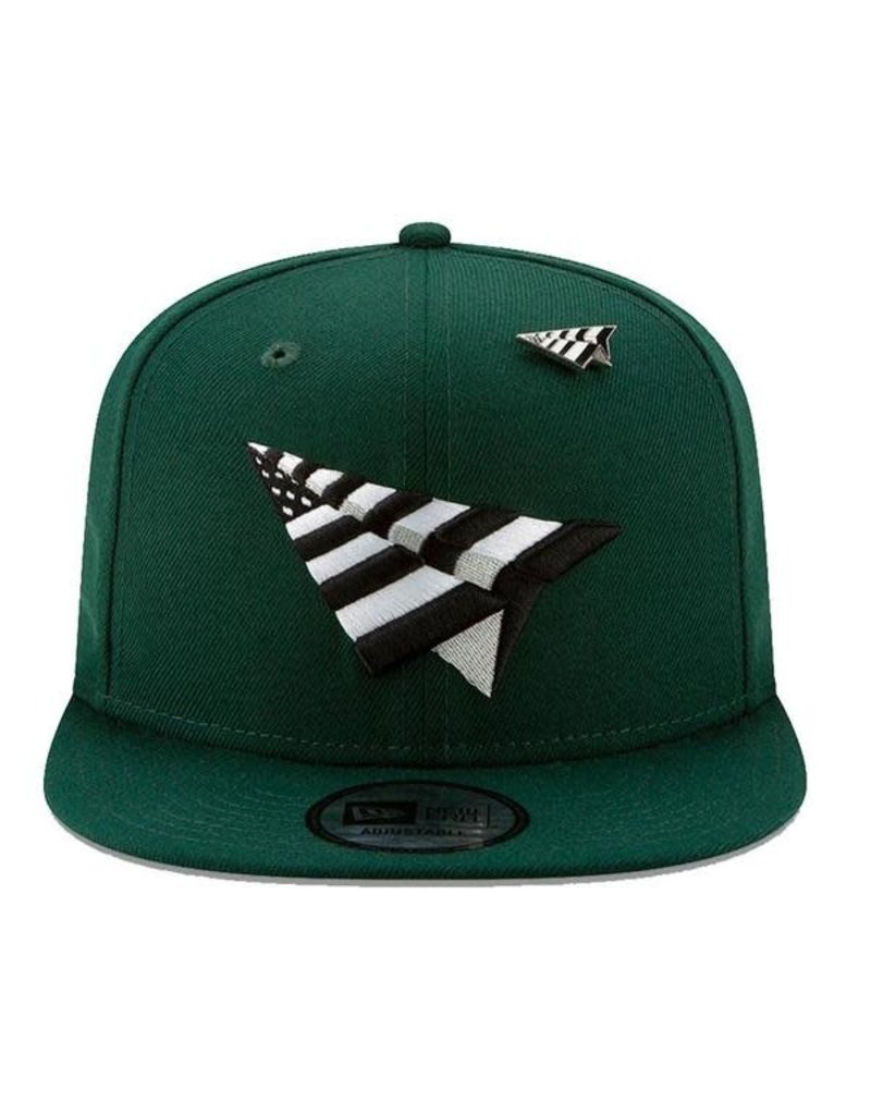 PAPER PLANES BY ROC NATION FIELD CROWN OLD SCHOOL SNAPBACK