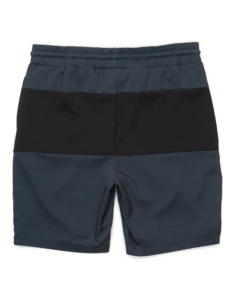 Cookies VERSAILLES POLY STRETCH CANVAS PANELED BOARDSHORT (SWIM TRUNK) W/ ZIPPER FRONT POCKETS
