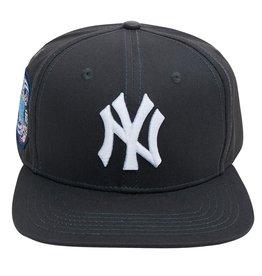 PRO STANDARD NEW YORK YANKEES LOGO SUBWAY SERIES SNAPBACK HAT