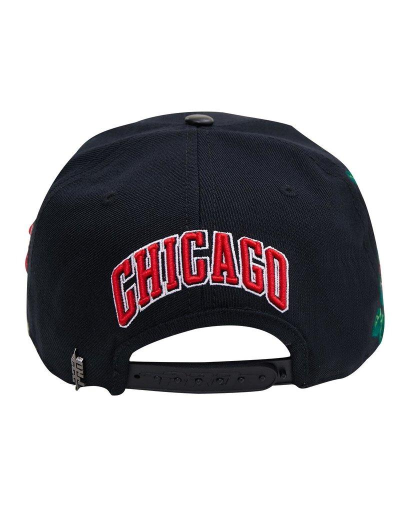 PRO STANDARD CHICAGO BULLS ROSES SNAPBACK HAT