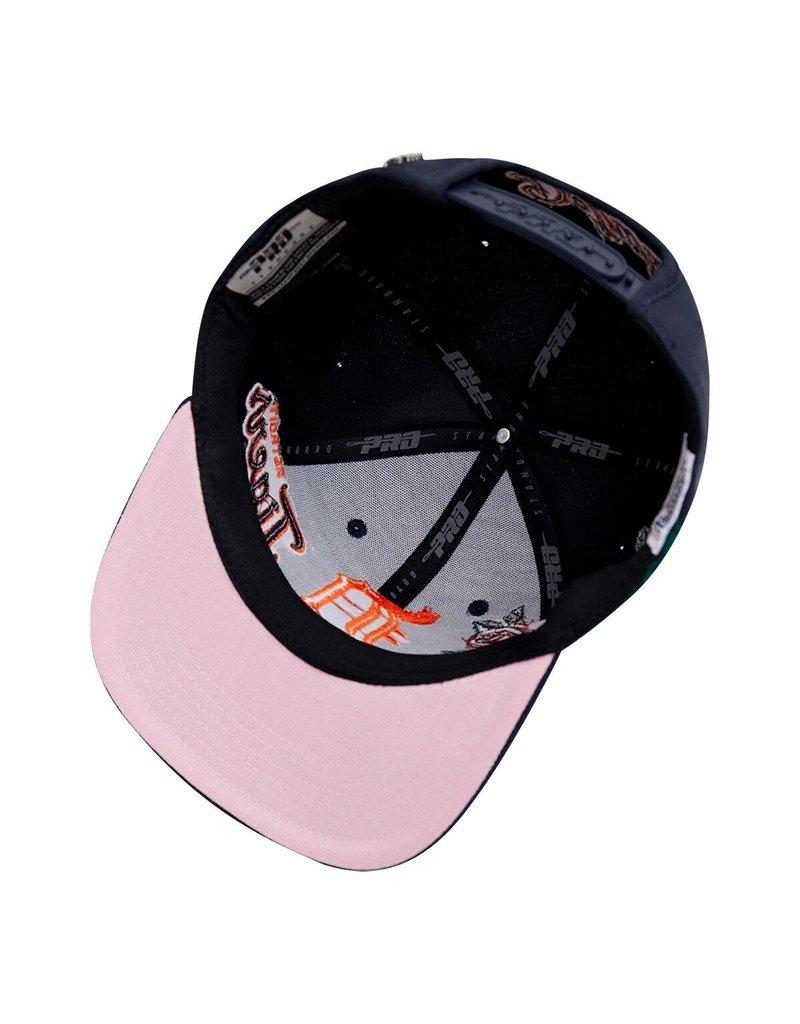 PRO STANDARD DETROIT TIGERS ROSES SNAPBACK HAT