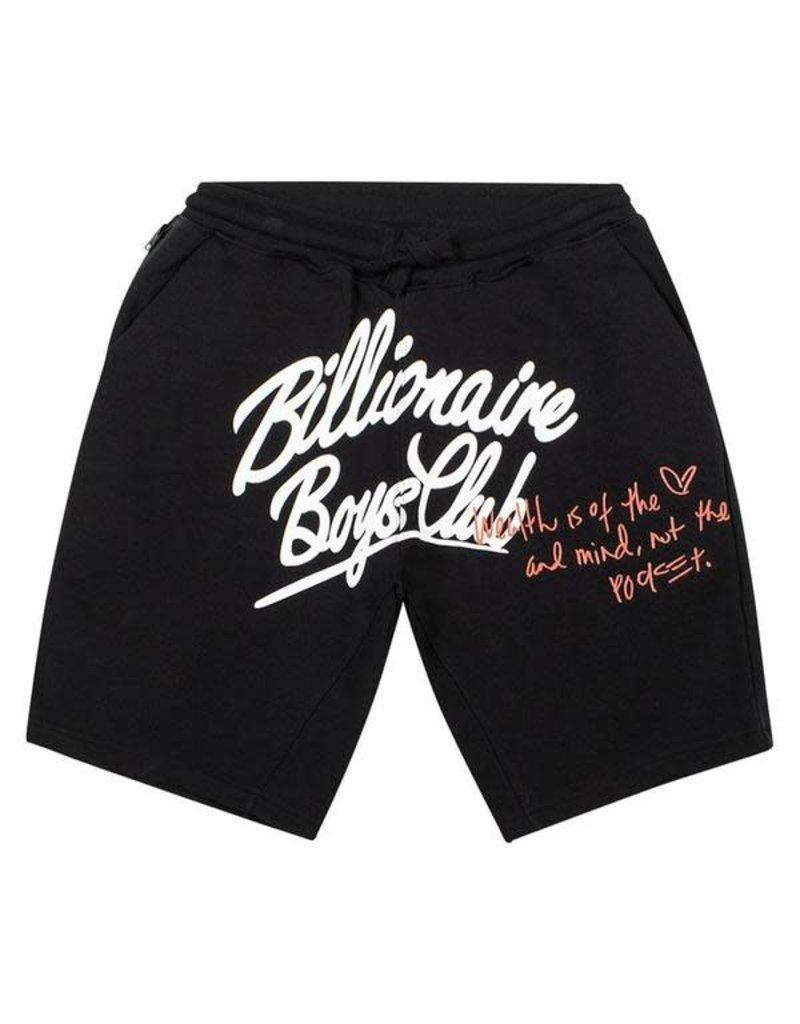 BILLIONAIRE BOYS CLUB BLACK BB CELESTIAL SHORT