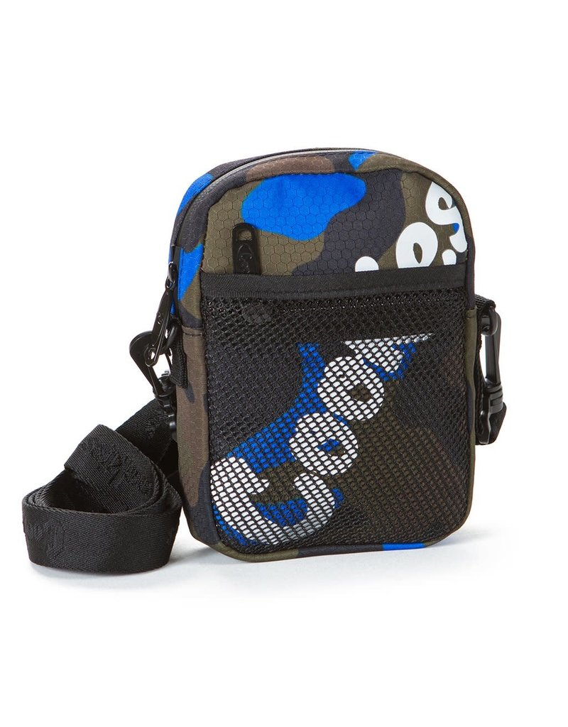 Cookies BLUE CAMO Layers Smell Proof Nylon Shoulder Bag
