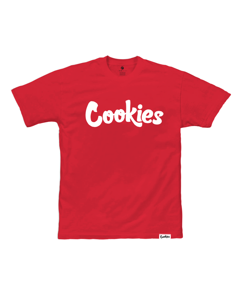 Cookies RED / WHITE ORIGINAL MINT TEE