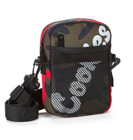 Cookies RED CAMO Layers Smell Proof Nylon Shoulder Bag