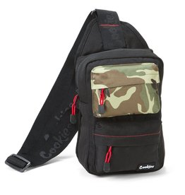 "Cookies BLACK ""Rack Pack"" Over The Shoulder Bag"