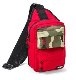 "Cookies RED ""Rack Pack"" Over The Shoulder Bag"