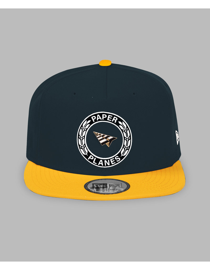 PAPER PLANES BY ROC NATION FIRST CLASS COLOR BLOCK OLD SCHOOL SNAPBACK
