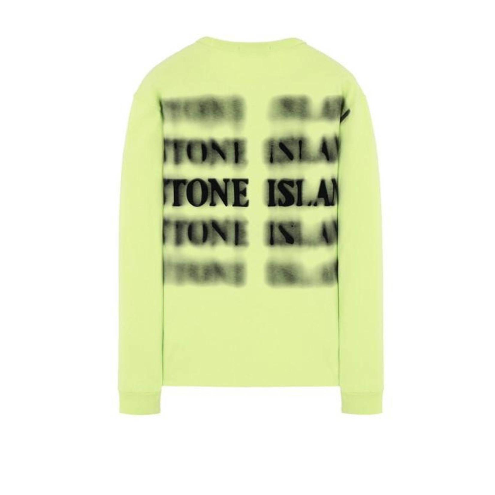 Stone Island Neon Long Sleeve Tee